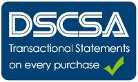 DSCSA statements on every purchase of prescription pharmaceuticals from our pharmaceutical wholesalers